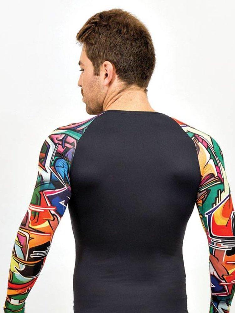 GraffitiBeasts Does - Heren Shirt Longsleeve met graffiti design