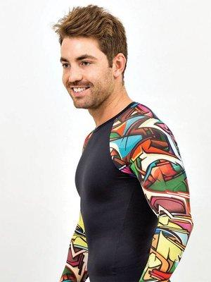 GraffitiBeasts Does - Heren shirt sleeve met graffiti design