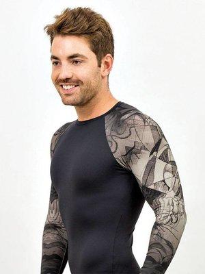 GraffitiBeasts Mr. Wany - Men's shirt sleeve with graffiti design
