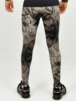 GraffitiBeasts Mr. Wany - Men's sport tight with graffiti print