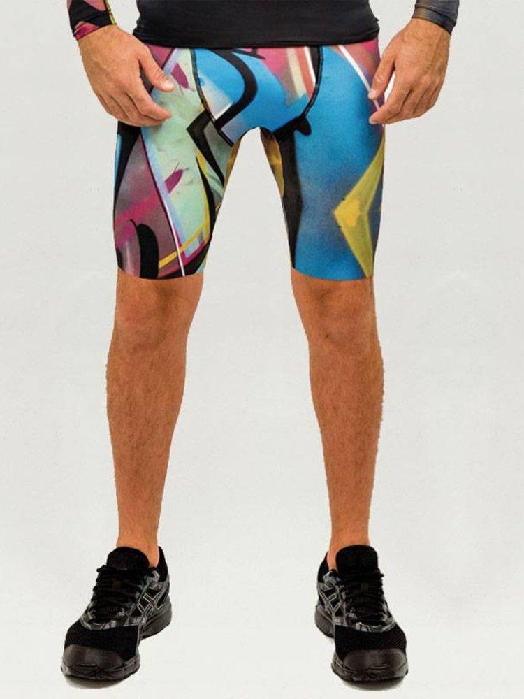 GraffitiBeasts Trun - Men's Running Shorts with print
