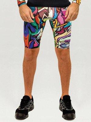 GraffitiBeasts Heren Running Shorts met opdruk