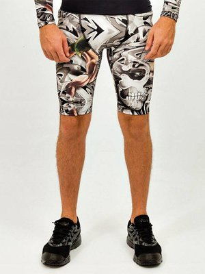 GraffitiBeasts Costwo - Heren Running Short met graffiti design