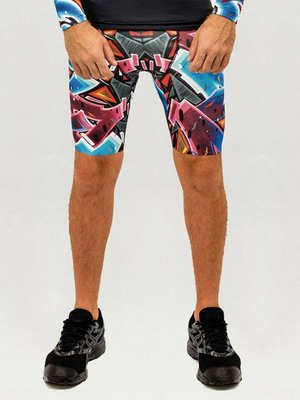 GraffitiBeasts Katre - Heren Running Short met graffiti design