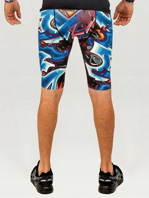 GraffitiBeasts Katre - Men's Running Shorts with print