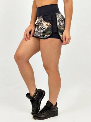 GraffitiBeasts Skirt with handy pockets and innershort  COSTWO