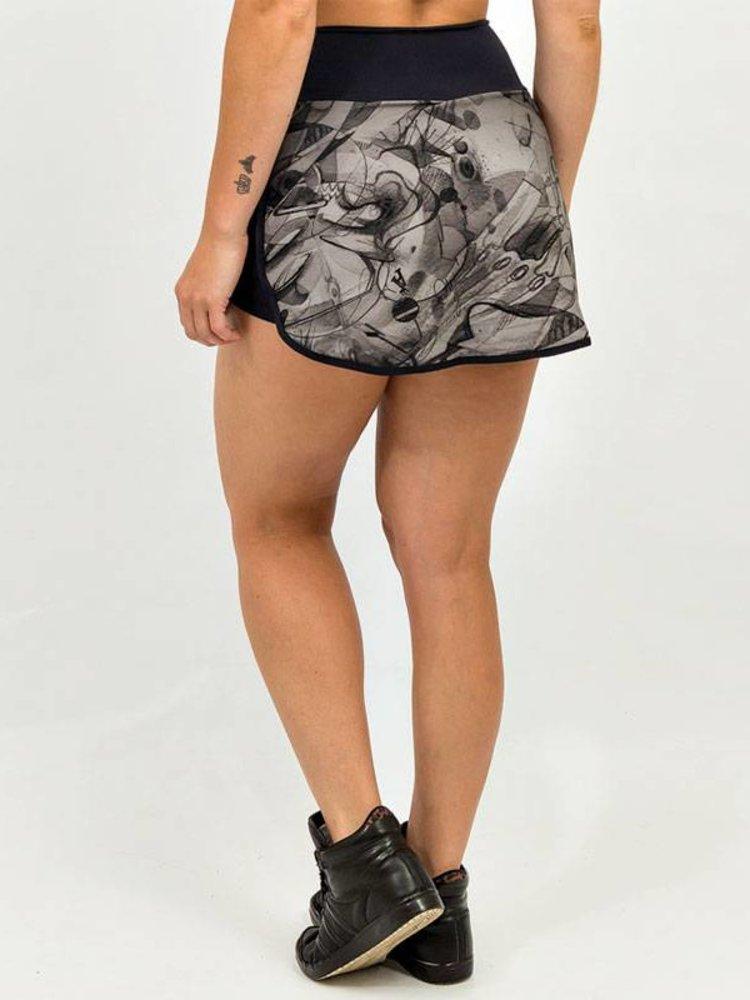 GraffitiBeasts Sport Skirt Dames met binnenbroek en pockets om heerlijk in te sporten