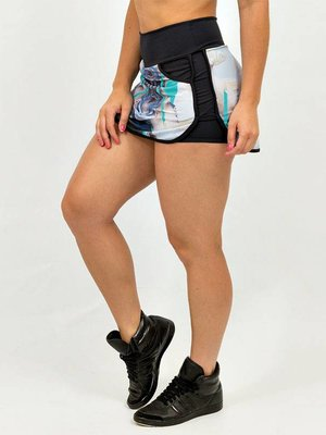 GraffitiBeasts Telmo & Miel - Skirt with handy pockets and innershort  TELMO & MIEL