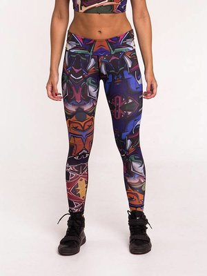 GraffitiBeasts Does - Ladies' Sportlegging in the Classic version with graffiti print