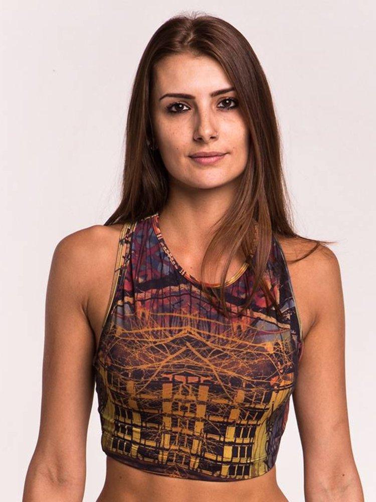 GraffitiBeasts Sport Top dames van de graffiti ontwerper Ski