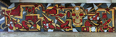 pariz one graffiti