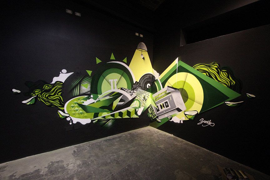 Zurik Graffiti
