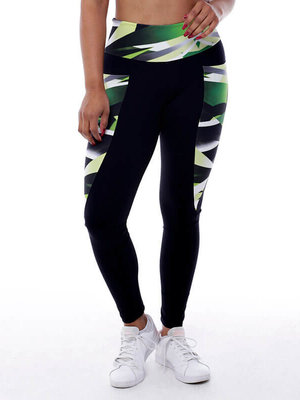 GraffitiBeasts Zurik  - Dames inverse sportlegging met graffiti design