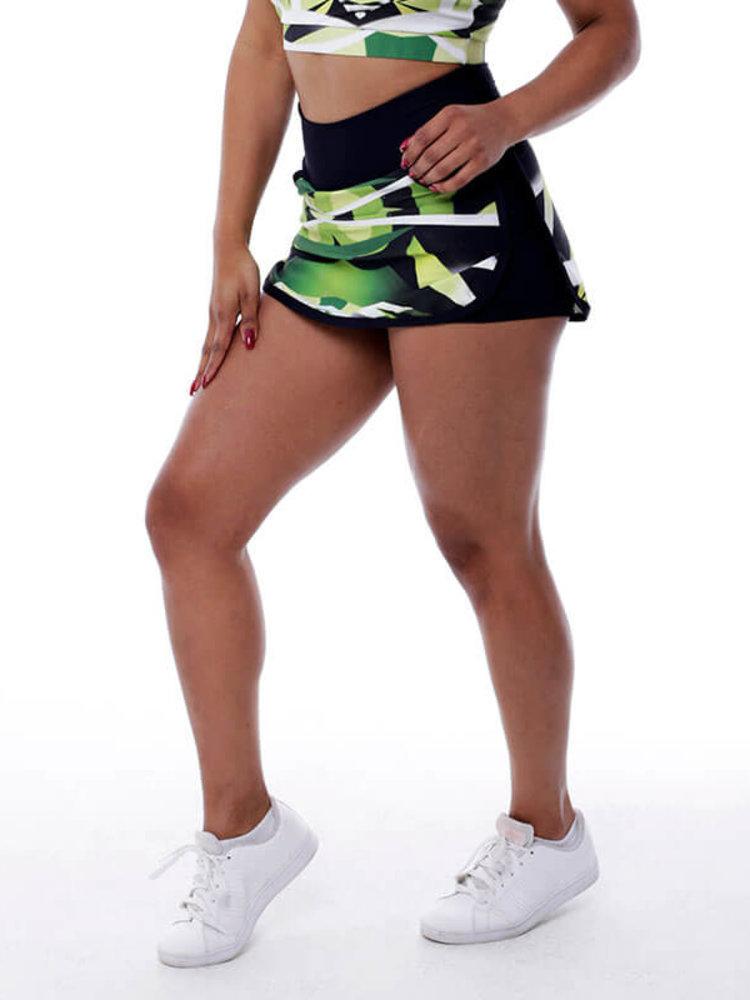 GraffitiBeasts Zurik - Sport Skirt Dames met binnenbroek en pockets om heerlijk in te sporten.