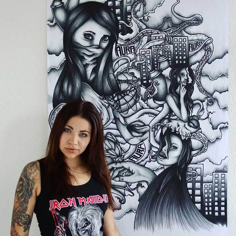 Aura Graffiti