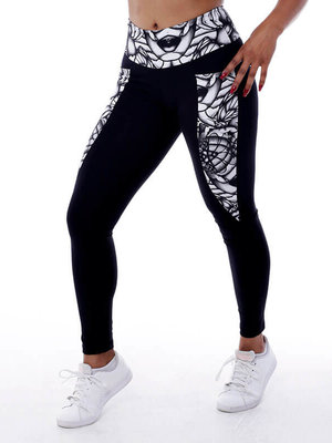 GraffitiBeasts Aura - Damen inverse Sport Leggings