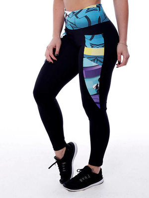 GraffitiBeasts Edis One  - Damen inverse Sport Leggings