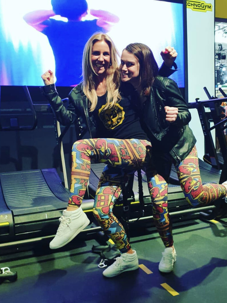 GraffitiBeasts Pariz One - Dames Sportlegging in de Classic uitvoering met graffiti design