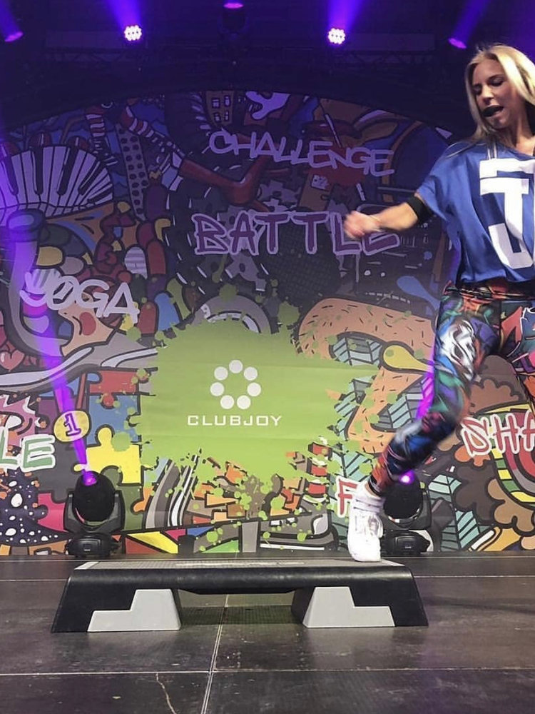GraffitiBeasts Does - Damensportlegging in der Classic-Version mit Graffiti-Print