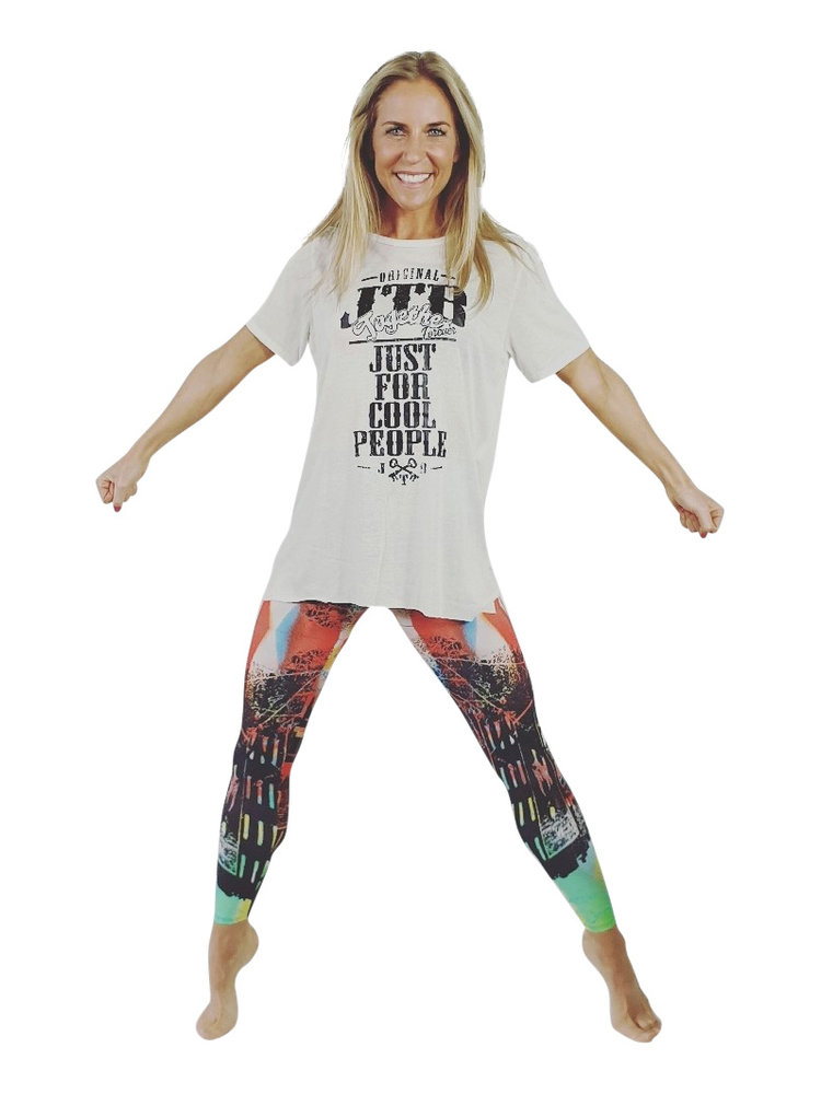 GraffitiBeasts 2ESAE - Ladies' Sportlegging in the Classic version with graffiti print