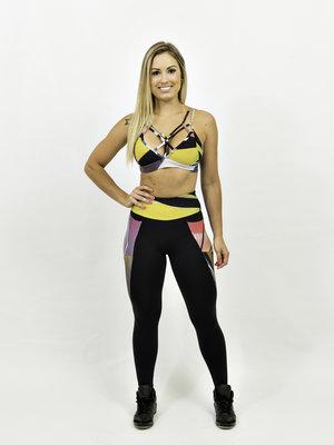 GraffitiBeasts Women Inverse Sportlegging with Graffiti Design from TRUN