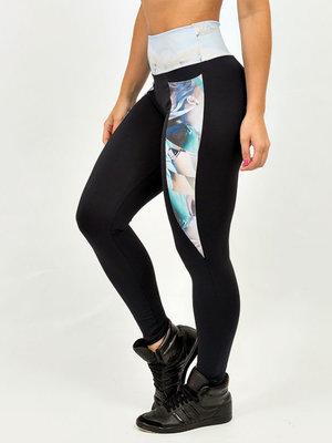 GraffitiBeasts Telmo & Miel - Ladies sport set consisting of leggings + top with design