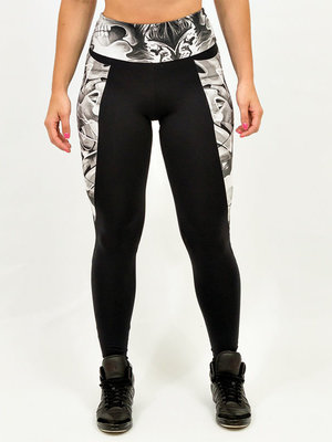 GraffitiBeasts Cost Two - Ladies sport set consisting of leggings + top with graffiti design