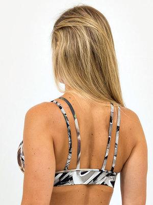 GraffitiBeasts Cost Two - Dames sport set bestaande uit legging + top met ontwerp