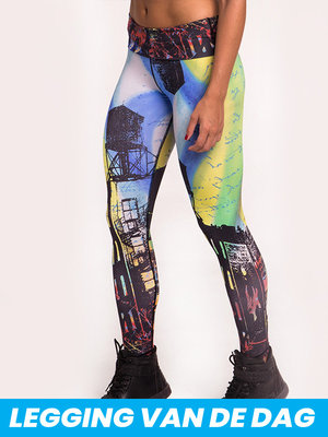 GraffitiBeasts 2ESAE - Dames classic sportlegging