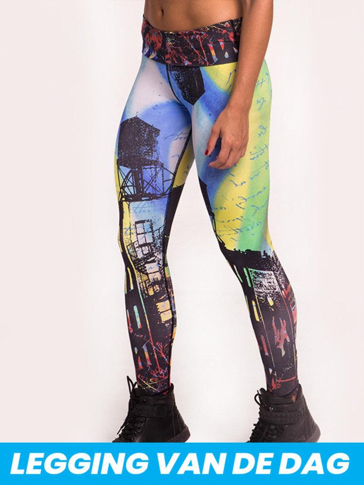 GraffitiBeasts 2ESAE - Ladies' Sportlegging in the Classic version with graffiti print