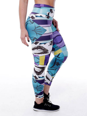 GraffitiBeasts Edis One - Dames StreetArt sportlegging