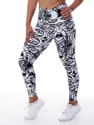 GraffitiBeasts Aura - Damen StreetArt sportlegging