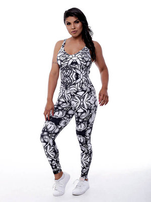 GraffitiBeasts Aura - Damen Sport Jumpsuit