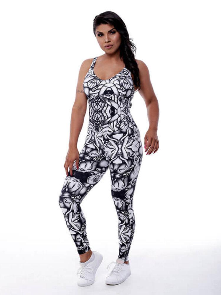 GraffitiBeasts Aura - Women Sport Jumpsuit