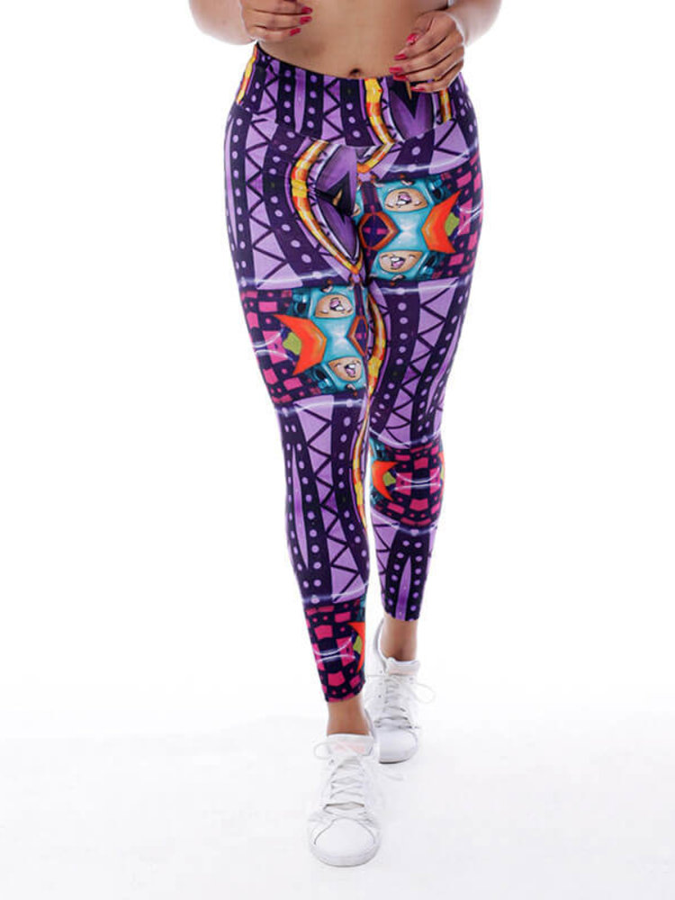 GraffitiBeasts Theydrift - Damen  StreetArt sportlegging