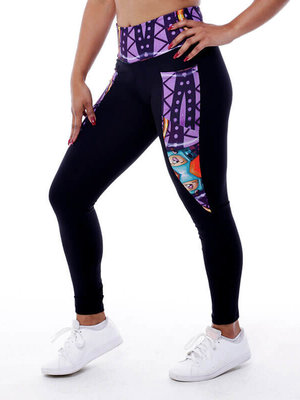GraffitiBeasts Theydrift  - Damen inverse sportlegging