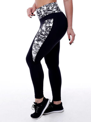 GraffitiBeasts Fire4L- Dames inverse sportlegging
