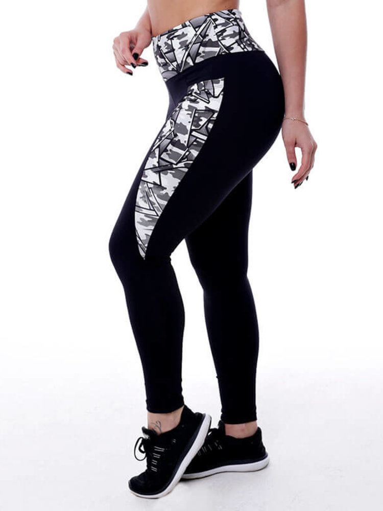 GraffitiBeasts Fire4L- Damen inverse sportlegging