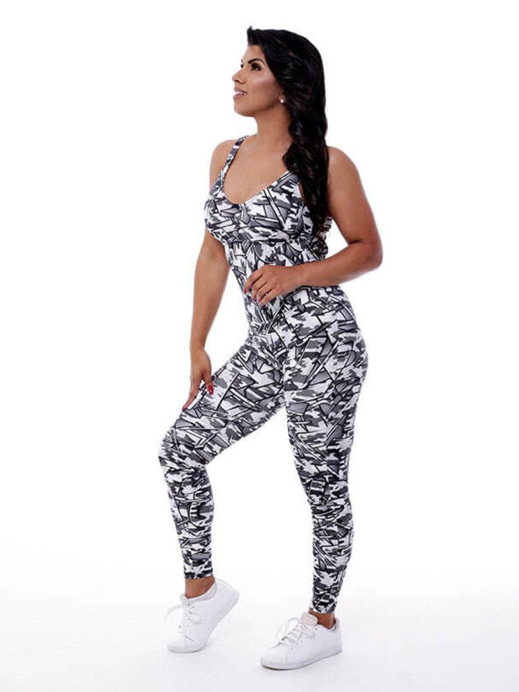 GraffitiBeasts Fire4L -  Damen Sport Jumpsuit