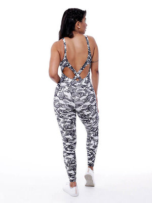 GraffitiBeasts Fire4L -  Dames Sport Jumpsuit