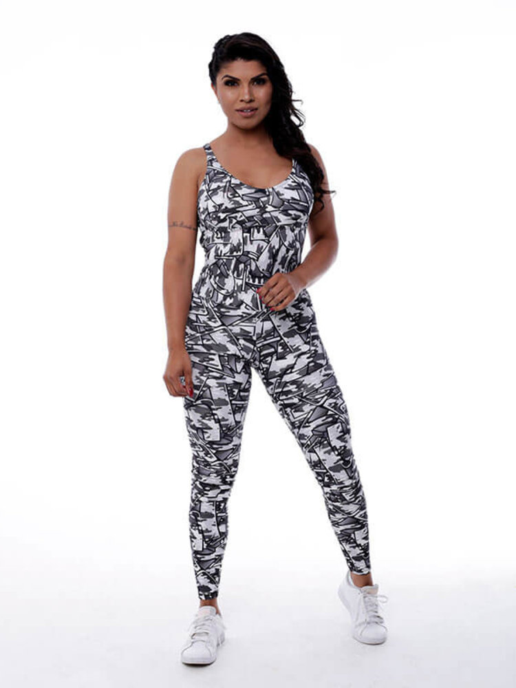 GraffitiBeasts Fire4L -  Women Sport Jumpsuit