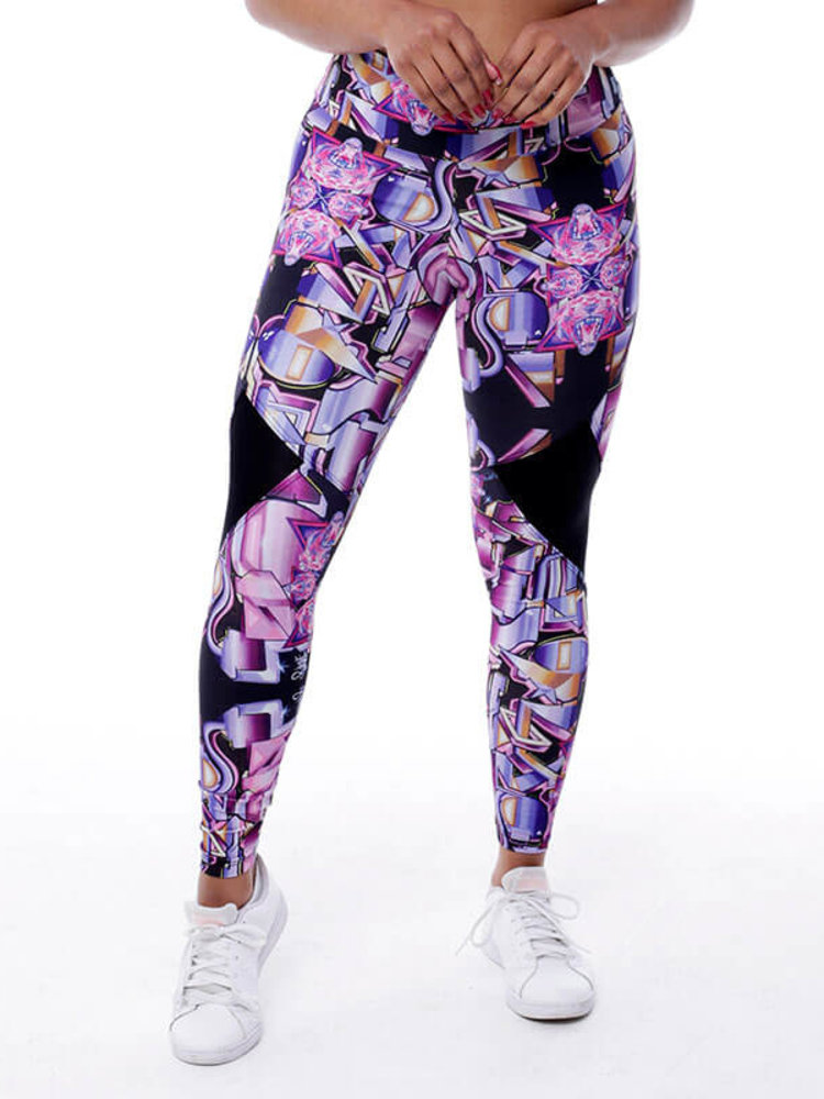 GraffitiBeasts Pariz One- Damen StreetMax sportlegging
