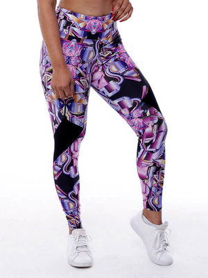 GraffitiBeasts Pariz One- Dames StreetMax sportlegging