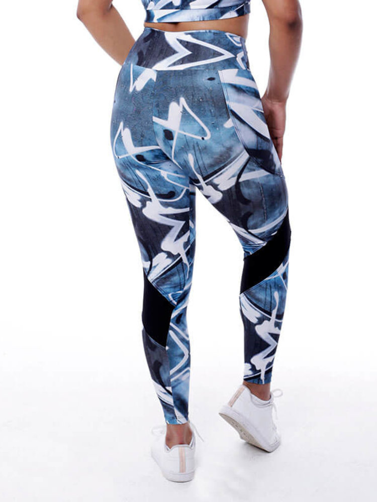 GraffitiBeasts Trun - Women StreetMax sportlegging