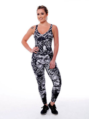 GraffitiBeasts Coly -  Damen Sport Jumpsuit