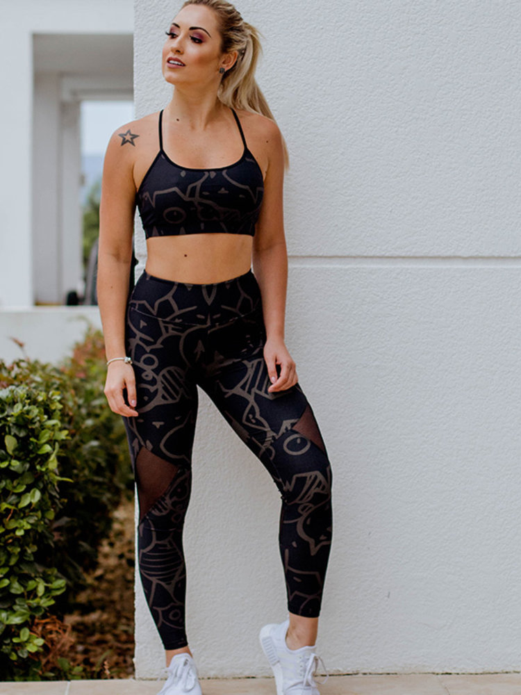 GraffitiBeasts Lunar - Damen StreetMax sportlegging