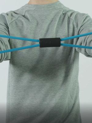 SportsAndMore Fitness elastic Blue