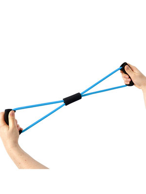 SportsAndMore Fitness elastisch Blau