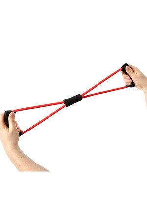 SportsAndMore Fitness elastiek Rood