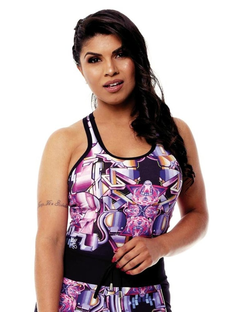 GraffitiBeasts Pariz One- Women Sports Tanktop